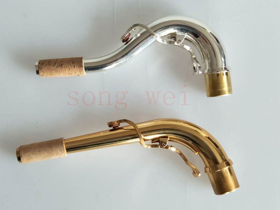 Melodía cuello cuello cuello de saxofón profesional 2 un. C SAX piezas Cuello 24mm fe9310