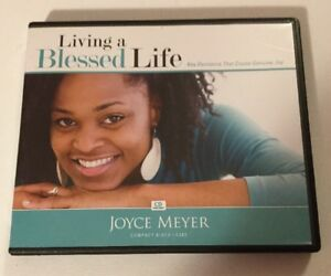Details about Joyce Meyer Living A Blessed Life Joy 4 Cd Set Christian  Sermons