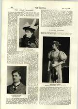 1896 Miss Beatrice Langley Clever Violinist Miss Kate Tindall Mr Ernest Leiceste
