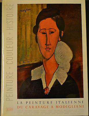 La Peinture Italienne Du Caravage A Modigliani Skira 1952 Ebay