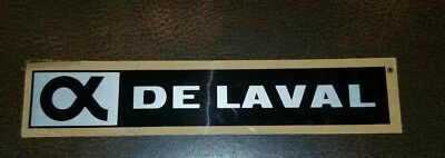 Vintage De Laval Decal Sticker New Old Stock Unused