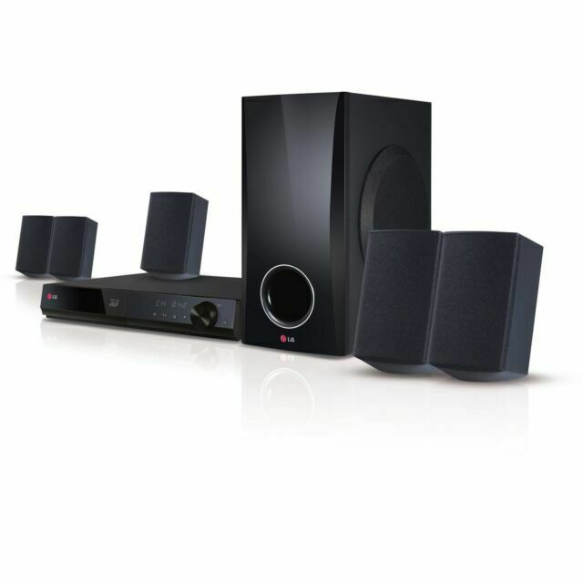 LG Electronics 500W Blu-Ray Home Theater System with Smart T