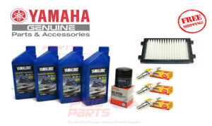 Details about YAMAHA EX / EX Sport Deluxe Oil Change Maint Kit w/ NGK Spark  Plugs Air Filter