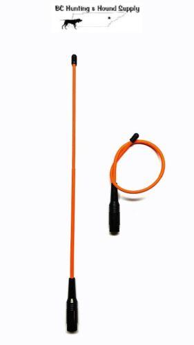 "TT15 //T5 Tuff Skin Long Range Antenna set Garmin Alpha 100 Flexible 14/"" /& 10"