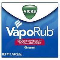 Vicks Vaporub Ointment 1.76 Oz Each on sale