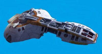 Loronar Star Wars Medium Transport Wood Model Free Ship   eBay