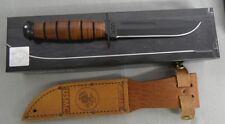 KA-BAR KNIFE 1250 SMALL TACTICAL MILITARY KABAR USMC STRAIGHT EDGE NEW KABAR