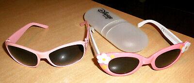 2 Mädchen-sonnenbrillen + 1 Etui Ca. 3-6 Jahre Guter Zustand