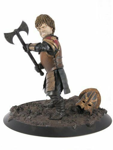 Dark Horse Deluxe Game of Thrones Tyrion in Battle Statue Comme neuf 1194 de 3000