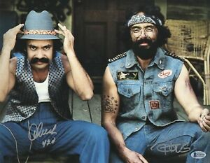 CHEECH-amp-CHONG-SIGNED-AUTOGRAPH-11X14-PHOTO-BECKETT-BAS-COA-18