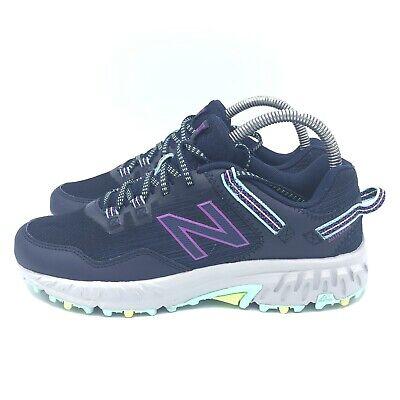 410v6 Trail Shoes Navy Purple Blue