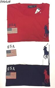 POLO-RALPH-LAUREN-MENS-BIG-PONY-FLAG-T-SHIRT-RED-WHITE-BLUE