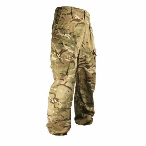 BRITISH ARMY - MTP WARM WEATHER TROUSERS - 80 80 96 - CADET - USED