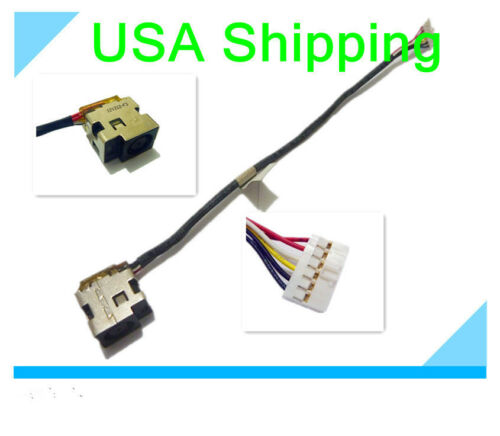 DC power jack cable harness for HP dv5-1128el dv5-1387nr dv5-1388us dv5-1392nr