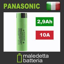 Batteria 18650 Originale Panasonic NCR18650PF 2900mAh - sigaretta big box mod bb