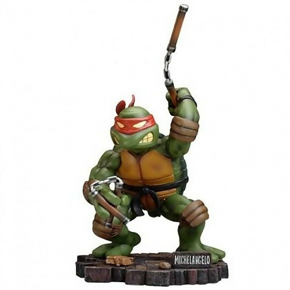 TMNT Teenage Mutant Ninja Turtles MICHELANGELO 9 Scale Resin Statue Playmates