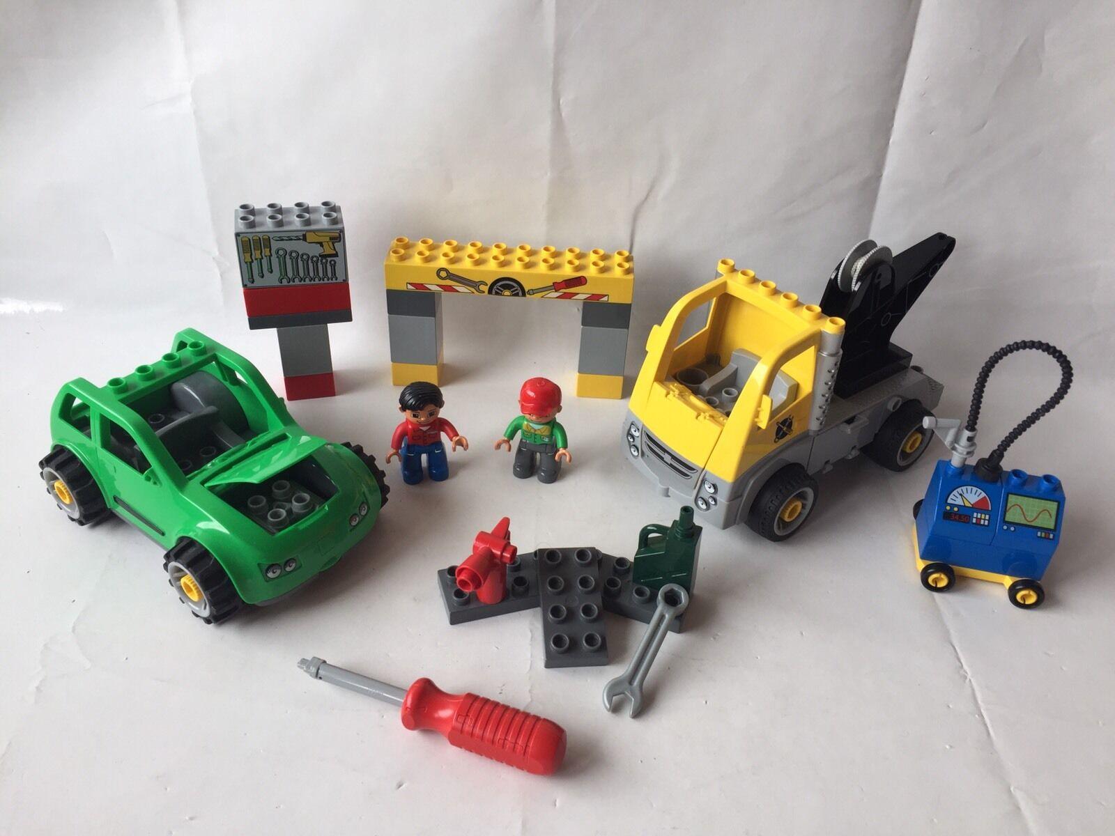 LEGO DUPLO TOOLO voiture atelier avec pneus changement-Camion-Troll Set 5641