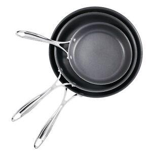 Ja Henckels International 3 Piece Nonstick Fry Pan Set