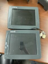 Micros Eclipse System Workstation Unit With Display For Parts