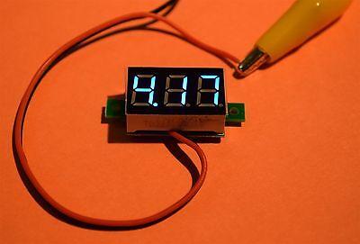 Blue LED Voltage Display Board 0 - 30V DC .36 inch Ideal For Mods