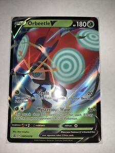 Pokemon TCG Orbeetle V SWSH078 Sword /& Shield Black Star Promo NM//M SKU#380