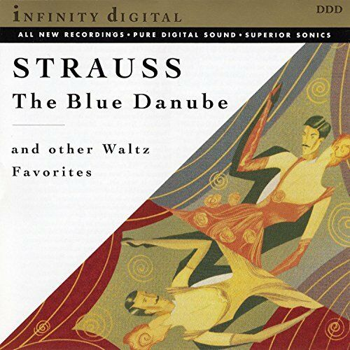 Strauss, J. - Blue Danube & Other Waltz Favo - Strauss, J. CD 91VG The Cheap