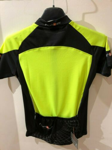 Funkier Force Kids Short Sleeve Jersey in Yellow//Black All Sizes