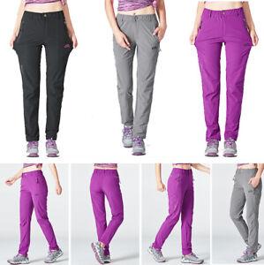 NEW-Women-Waterproof-Breathable-Outdoor-Hiking-Elastic-Quick-drying-Pants-DRJ