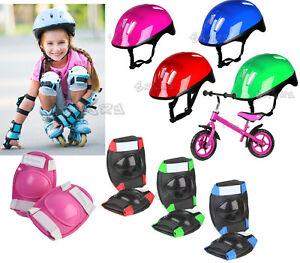 Caschetto-regolabile-bici-bambino-bambina-casco-protezioni-pattini-Blu-Rosa-Ross