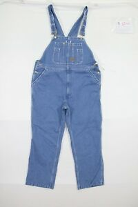 Latzhose-Big-Smith-cod-S1266-tg-W42-L30-Jeans-gebraucht-vintage-Denim