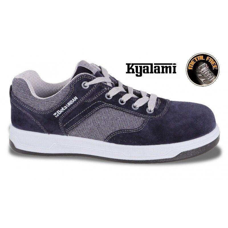 Zapatos BASSE IN PELLE SCAMOSCIATA KJALAMI S1P SRC 7361UB