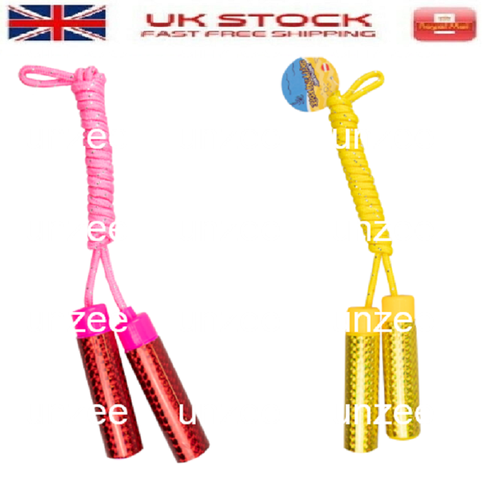 SKIPPING ROPE GREAT FOR KIDS ACTIVE EXERCISE JUMPING GAME FITNESS
