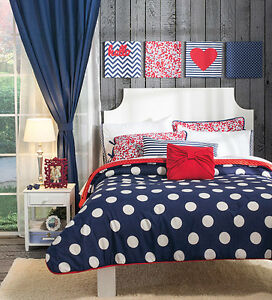 Girls And Teens Twin Full And King Size Sail Polka Dots