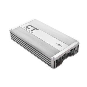 CT Sounds T-60.4AB Car Audio Full Range Class AB Amp 4 Ch Speaker Amplifier