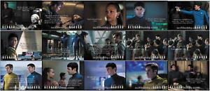 2017-Star-Trek-Beyond-Movie-Trading-Cards-Basic-Mini-Master-Set-w-Binder-amp-Auto