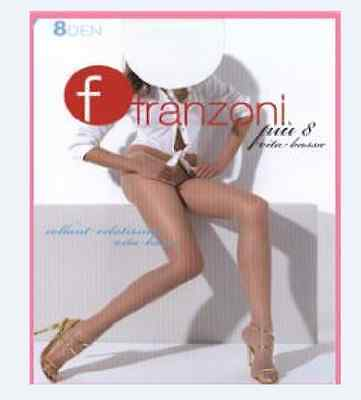 2 PAIA COLLANT FRANZONI 8 PIU/' VITA BASSA  CALZE DONNA