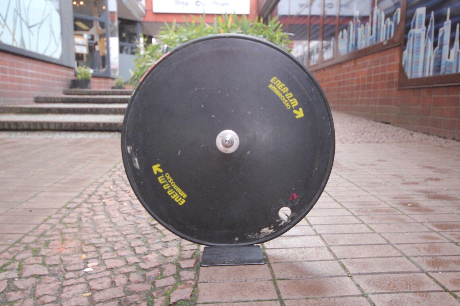AMBROSIO ENER N.M. Crono Disc Wheel   ISO Thread   28  Time Trial Tubular œ