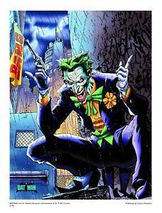 Batman Hush Joker L E Giclee By Jim Lee With Coa Ebay
