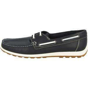 premium selection 3d9c7 07874 Details zu Ecco Reciprico Schuhe Herren Bootsschuhe Halbschuhe Mokassin  navy 660414-01058