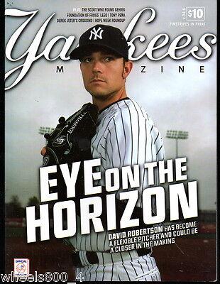 Yankees Magazine August 2013 v.34-6 Derek Jeter David Robinson Mariano Rivera