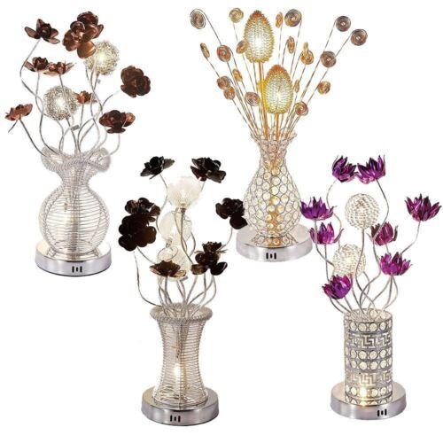 Home Lighting Large Modern Aluminium, Flower Vase Floor Lamp