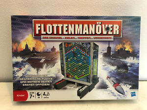 Flottenmanoever-von-MB-Orginalausgabe-des-Taktikspiel-Klassikers-Battleships