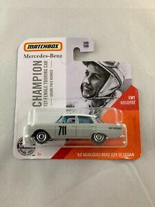 MATCHBOX-039-62-Mercedes-Benz-220-SE-BERLINA-ewy-rosqvist-spedizione-in-scatola