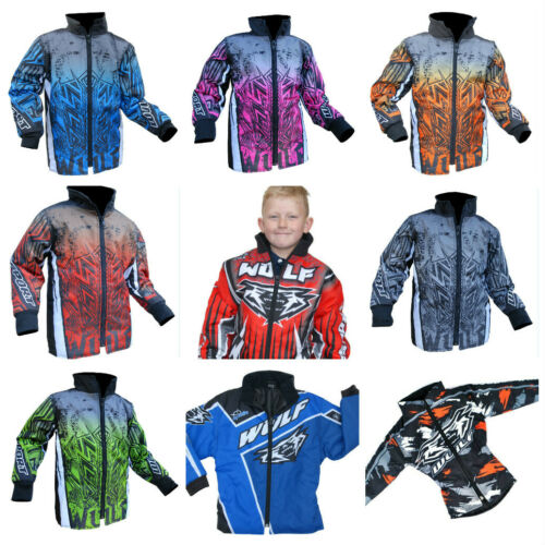 New Wulfsport Kids Jacket Motocross Trials Quad Atv Youth Child Sx Pw Lt Kx Coat