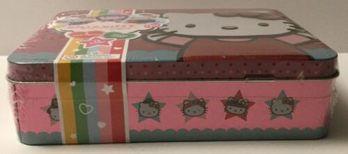HELLO KITTY AMERICA THE BEAUTIFUL SERIES 1 COLLECTIBLE TIN LUNCH BOX LOT OF 2