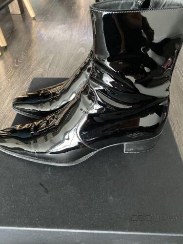 dsquared2 patent boots Vernice black Size 41US 9