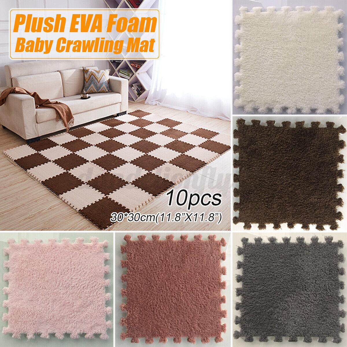 Large Thick Eva Foam Mat Soft Floor Tiles Interlocking Play Kids Baby Mats Gym