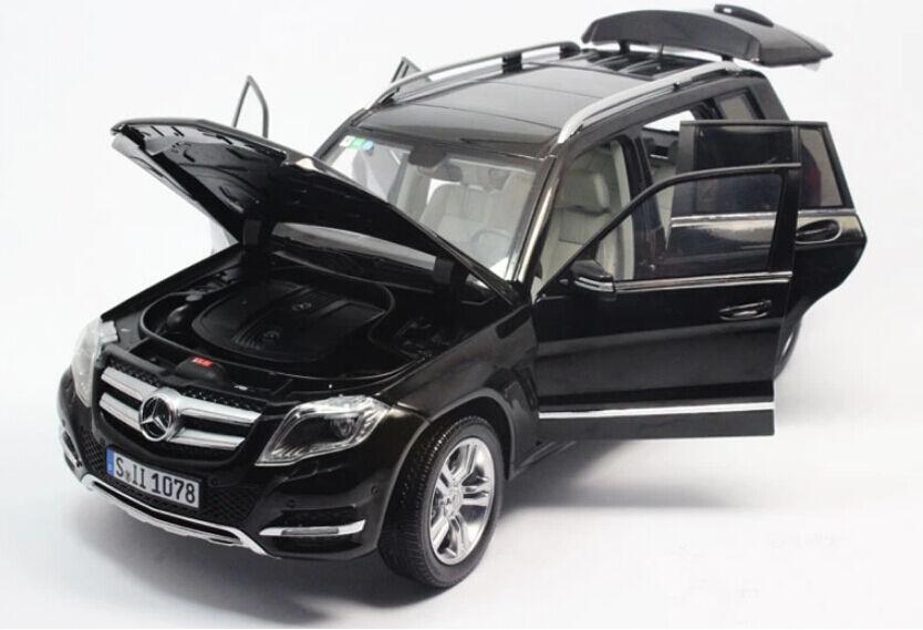 bienvenido a orden Welly 2018 Mercedes Benz GLK Clase Negro Gt Coches Coches Coches Serie 1/18 Escala  Obtén lo ultimo