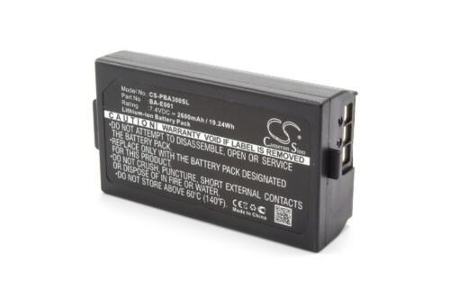 P-touch h300//li pt-p750w BATTERIA 2600mah per BROTHER pt-h500li