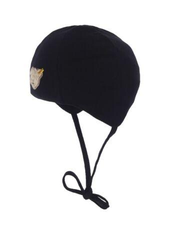 STEIFF Baby Little Star Mütze blau mit Teddykopf Gr 39-47 NEU